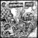 """Archagathus  / Nak'ay - split 10""""LP (splatter vinyl)"""