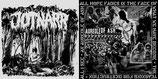 "JOTNARR / AUREOLE OF ASH - split 7"""