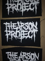 The Arson Project - LOGO PATCH small
