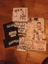 IN FEAR WE TRUST - Psychoneurosis / Herida Profunda / Suffering Quota - 3 WAY SPLIT