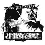 """UNHOLY GRAVE / NAK'AY split 5""""EP"""