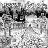 STORMCROW / MASS GRAVE Split     CD