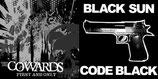 "BLACK SUN / THEY ARE COWARDS - Split 7"""