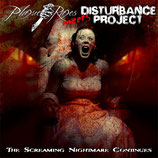 PLAGUE RAGES / DISTURBANCE PROJECT - THE SCREAMING NIGHTMARE … CD