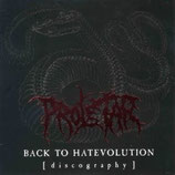 Proletar - Back to hatevolution (discography) CD