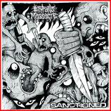 """ENTRAILS MASSACRE // SANCTIONED - Split 7""""EP (black Vinyl)"""