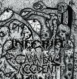 "Cannibal Accident / Inferia - split 7"""