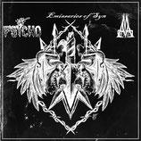 PSYCHO / EMISSARIES OF SYN / MxAxMxA - 3 Way Split LP