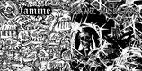 "SATANIC MALFUNCTIONS / FAMINE - split 7""EP"