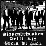 SLAPENDEHONDEN / DRILL BIT / BROM BRIGADE - CD