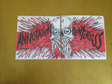 ANNOTATION / BENT CROSS - split 7""