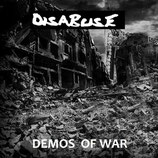 DISABUSE - demos of war LP