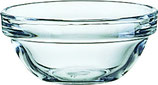 Glasschale 7 cm Empilable transparent