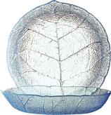 Glasteller tief 21 cm Aspen transparent