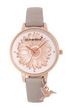 Blumenkind Armbanduhr Houston Blume ganz 04091981RWHPGR rosé/grau