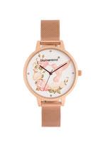 Blumenkind Armbanduhr Woodstock 15081969WHSSRO Milanaise Armband