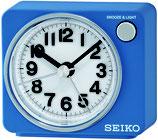 Seiko Wecker QHE100L Analog Quarz Blau