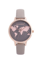 Blumenkind Armbanduhr Hollywood 07031985RGRPGR rosé/grau