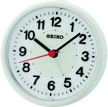 Seiko Wecker QHE159H Analog Quarz Weiß