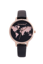 Blumenkind Armbanduhr Hollywood 07031985RBKPBK rosé/schwarz