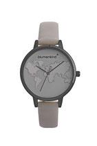Blumenkind Armbanduhr Hollywood 07031985GRGRPG grau/grau