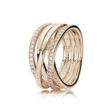 Pandora ROSE Ring 180919CZ Zirkoniasteine Ringweite 60