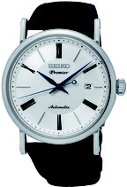 Seiko Premier Armbanduhr Herrenuhr Automatic SRPA17J2