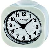 Seiko Wecker QHE121W Analog Quarz Weiß