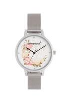 Blumenkind Armbanduhr Woodstock 15081969SWHSS Milanaise Armband