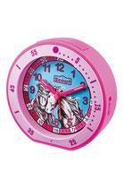 Scout Wecker Kinderwecker Serie: Minute 280001003 Mädchen pink Pferde