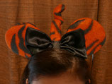 Mermaid and Tigger Mouse Ears, Auburn, LSU Mouse Ears