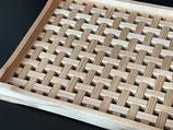 木のトレー&花台 両面使える便利なトレー