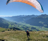 Gleitschirmfliegen Level 5 Streckenflugberechtigung
