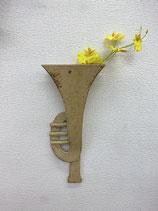 花と楽器のシンフォニー 花器 トランペット