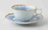 金牡丹 輪花コーヒー碗皿(1客)