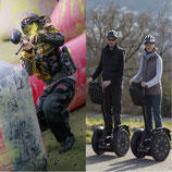 Incentive Halbtagesausflug Segway-Tour & Paintball