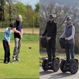 Incentive Tagesausflug Segway-Tour & Golf