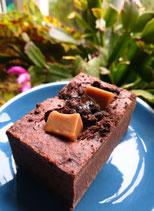 Vegan Salted Fudge Brownie