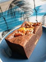 Salted Almond Brittle Brownie