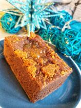 Vegan Gingerbread Pudding Brownie