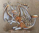 Dessin original n°7 dragon