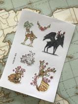 Stickers Cerfs