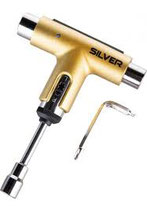 Silver tool gold (ratelsleutel)