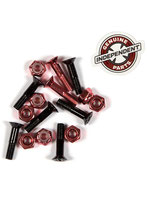 "Independent 1"" cross bolts Red"