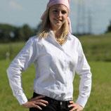 Strahlenschutz-Bluse Damen weiß