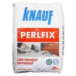 Клей на гипсовой основе ПЕРЛФИКС 30кг (40/45) KNAUF