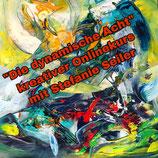 """Kreativer Onlinekurs """"Die dynamische Acht - Intuitives Malen"""" mit Stefanie Seiler - Teil 1"""