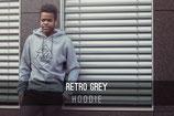 Grey Retro (Hoodie)