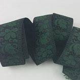 Brokatborte Blätter grün-schwarz