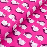 Bio Jersey Eichhörnchen pink
